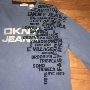 MEN'S DKNY JEANS blue sweater